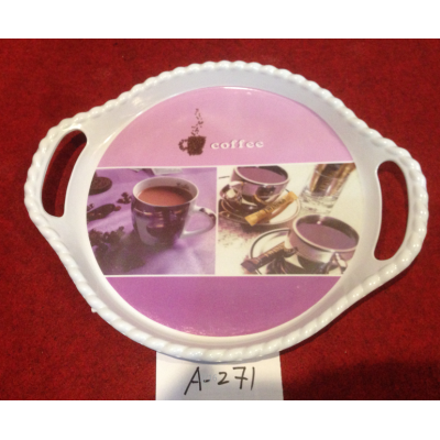 A-271  Top Sale Hight Quality Plastic Plate Wholesale In Yiwu Market
