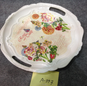 A-397  Top Sale Hight Quality Plastic Plate Wholesale In Yiwu Market