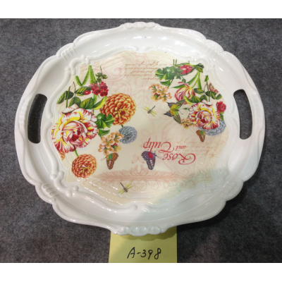 A-398  Top Sale Hight Quality Plastic Plate Wholesale In Yiwu Market