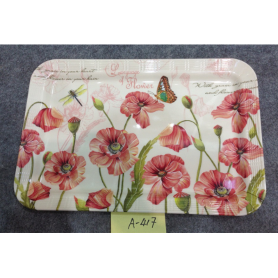 A-417  Top Sale Hight Quality Plastic Plate Wholesale In Yiwu Market