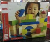 Wooden toys, blockes