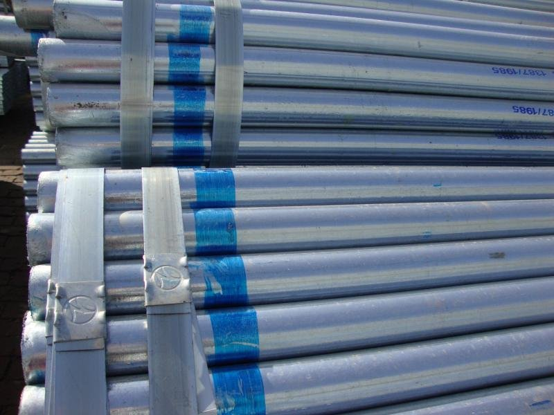 welded galvanized water pipe size manufacture