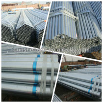 Silver ASTM Galvanized Steel Pipes