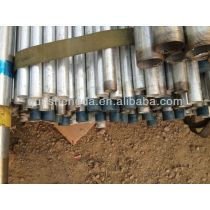 Galvanized Fence Pipes 1/2