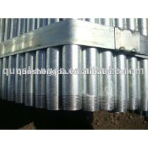 emt galvanized conduit with threading end