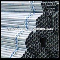 Q235 Hot dipped gi steel tube for building