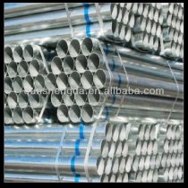 Hot dipped galvanized steel pipe in electrical installation