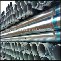 galvanized tube steel Pipes