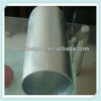 ISO9001 galvanized steel tube factory
