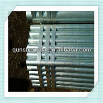 ISO9001 hot galvanized steel pipe manufacture