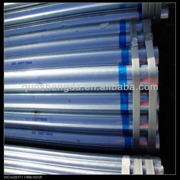 galvanized steel pipe for delivery project