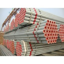 Galvanized steel pipe for structure use