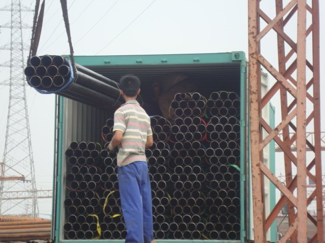 ERW welded steel pipe for structure