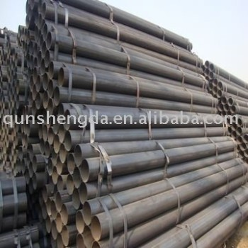 Black ERW Welding steel pipe2''