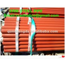 Carbon Black Steel Pipe for fire tube.
