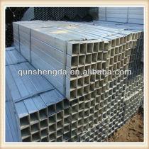 rectangular gi steel pipe for construction