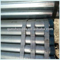 gi black steel pipe/tube for water delivery