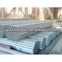 BS1387 Pre- Galvanized Steel Pipe