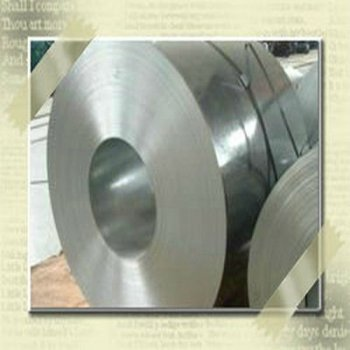 Hot dip galvanized steel trip/coil