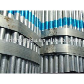 Erw MS galvanized pipes for EMT