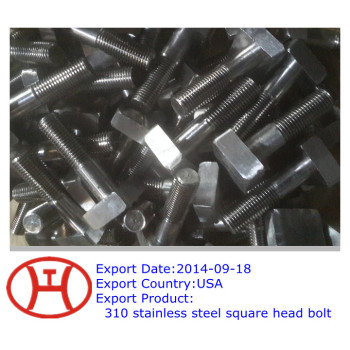 310 square head bolt