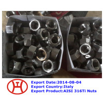 316Ti hex bolt