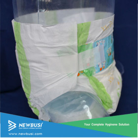 Disposable Pulp Core Super Soft Baby Diapers