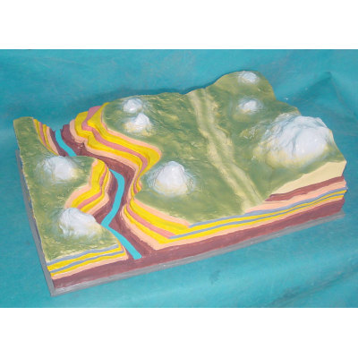 ENVIRONMENTAL PROTECTION PVC MATERIAL GEOGRAPHIC SIMULATION TEACHING MODEL GRAND CANYON MODEL -GASEN-RZDL005