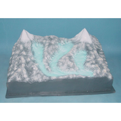 ENVIRONMENTAL PROTECTION PVC MATERIAL GEOGRAPHIC SIMULATION TEACHING MODEL GLACIER MODEL -GASEN-RZDL006