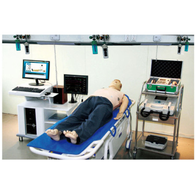 COMPREHENSIVE EMERGENCY SKILL TRAINING MANIKIN GASEN-ACLS8000C