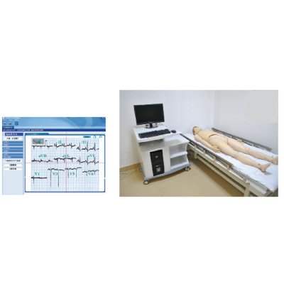 ONLINE ECG SIMULATED TEACHING SYSTEM GASEN-ZXD1900