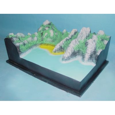 SMALL COAST LANDFORM MODEL GASEN- R210110