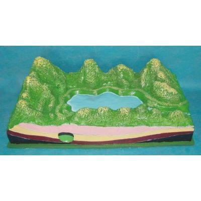 SMALL GROUNDWATER LANDFORM MODEL GASEN- R210111
