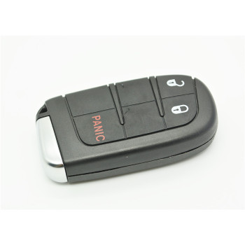 Chrysler, Dodge, Jeep 2 + 1 button smart remote key shell