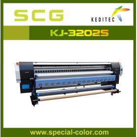 3.2m Eco solvent printer 2pcs Dx5 heads,high speed ,high quality