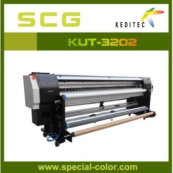3.2m Eco solvent printer 2pcs Dx5 heads,high speed ,high quality