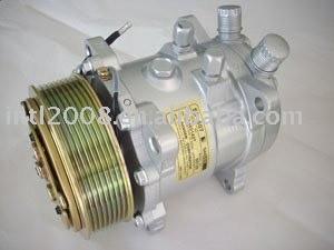 Auto A / C Compressor SD507 5125 8PK 119 MM 12 V