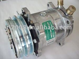 Sd5h14 6626 12v 132mm o - ring compressor para a universal auto condicionador de ar