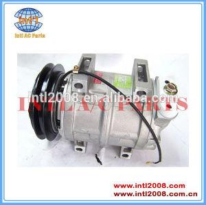 Dks15ch auto compressor do condicionador para mitsubishi l200 oem#mr190619 506011-7301 506211-6520 506011-7303