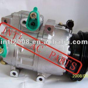 Ar condicionado compressor para 2006 - 2008 hyundai accent compressor ac oem#97701 - 1e000 cb5aa06