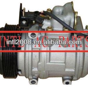 Denso 10pa15c auto um/c ac compressor benz mb w124 6pk pv6 1021310101 147200-1384 1472001384 147100-4760 147100-5020 147100-7510