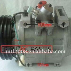 Denso 10pa30c 10p30c 447200-0394 4472000394 ac auto compressor do ar condicionado para toyota coaster