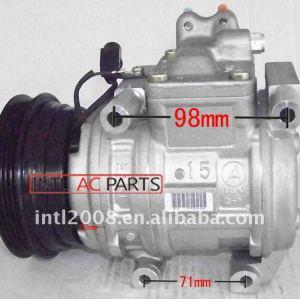 10pa15c compressor ac 2004-2006 kia cerato 1.6 4pk 125mm 97701- 2f000 12040-22700 977012f000 1204022700 ar condicionado comp