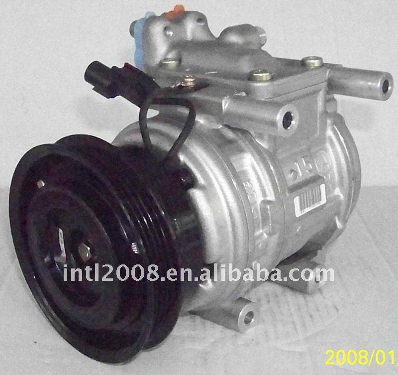 10PA15C ac COMPRESSOR 2004-2006 KIA CERATO 1.6 4PK 125MM 97701-2F000 12040-22700 977012F000 1204022700 air conditioning comp