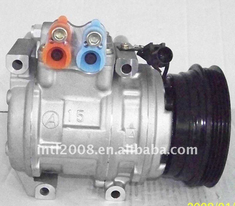 10PA15C ac COMPRESSOR 2004-2006 KIA CERATO 1.6 4PK 125MM 97701-2F000 12040-22700 977012F000 1204022700 air conditioning comp