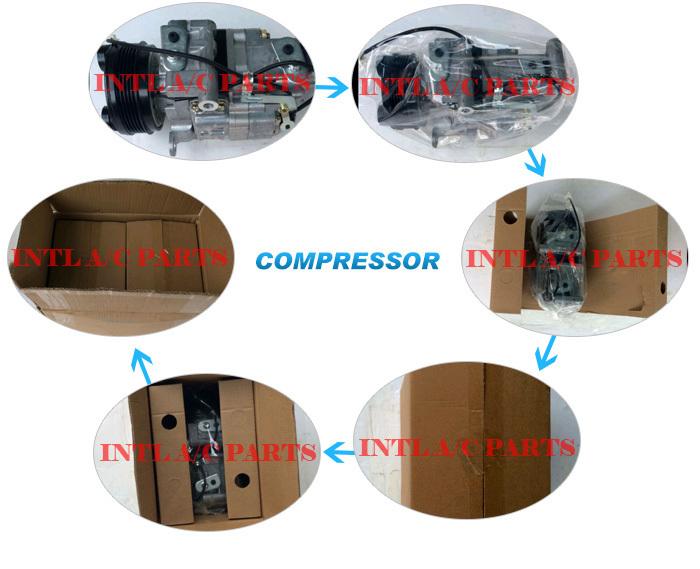447300-707 447170-2324 447203-976 447190-9362 DENSO 6SEU12C auto air con compressor for MERCEDES Benz MB CLASSE A W168