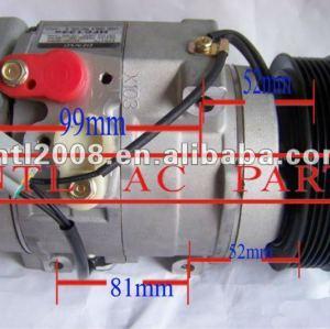 88320-26600 447260-8232 denso 10s17c ac auto compressor do ar condicionado para fiat toyota hiace/hilux pick- up/land cruiser