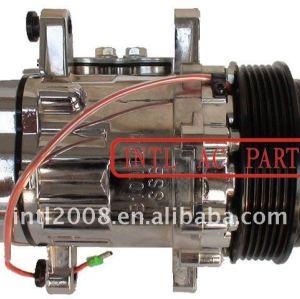 Auto ar um/c( ac) cromo compressor 7b10 6pk 112mm compressor para opel volkswagen aircon kompressor assy