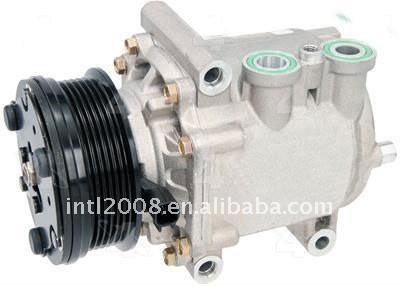 Four seasons 78542 compressor de ar condicionado, novo, alumínio, scroll, r-134a, cada