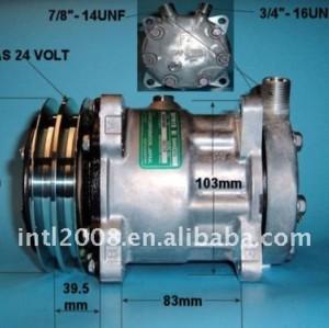 Compressor sanden sd7h15 ou vertical 24v 5